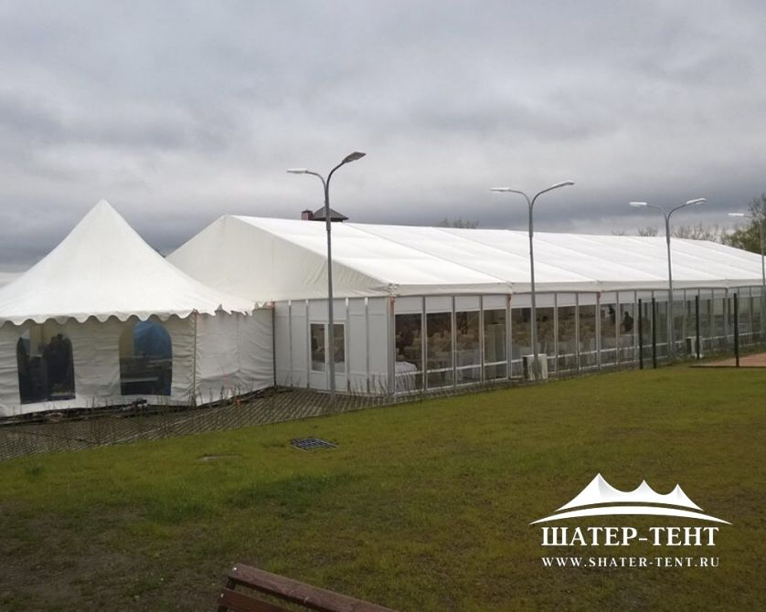 Тентовый шатер Roder - 25х30м