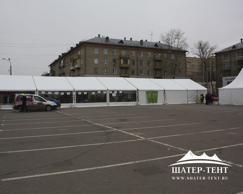 Тентовый шатер - 10х35м