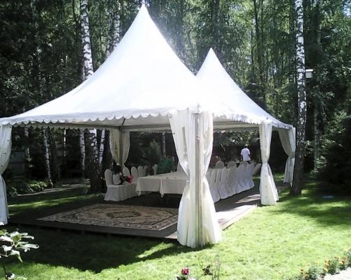 Мероприятие под шатров