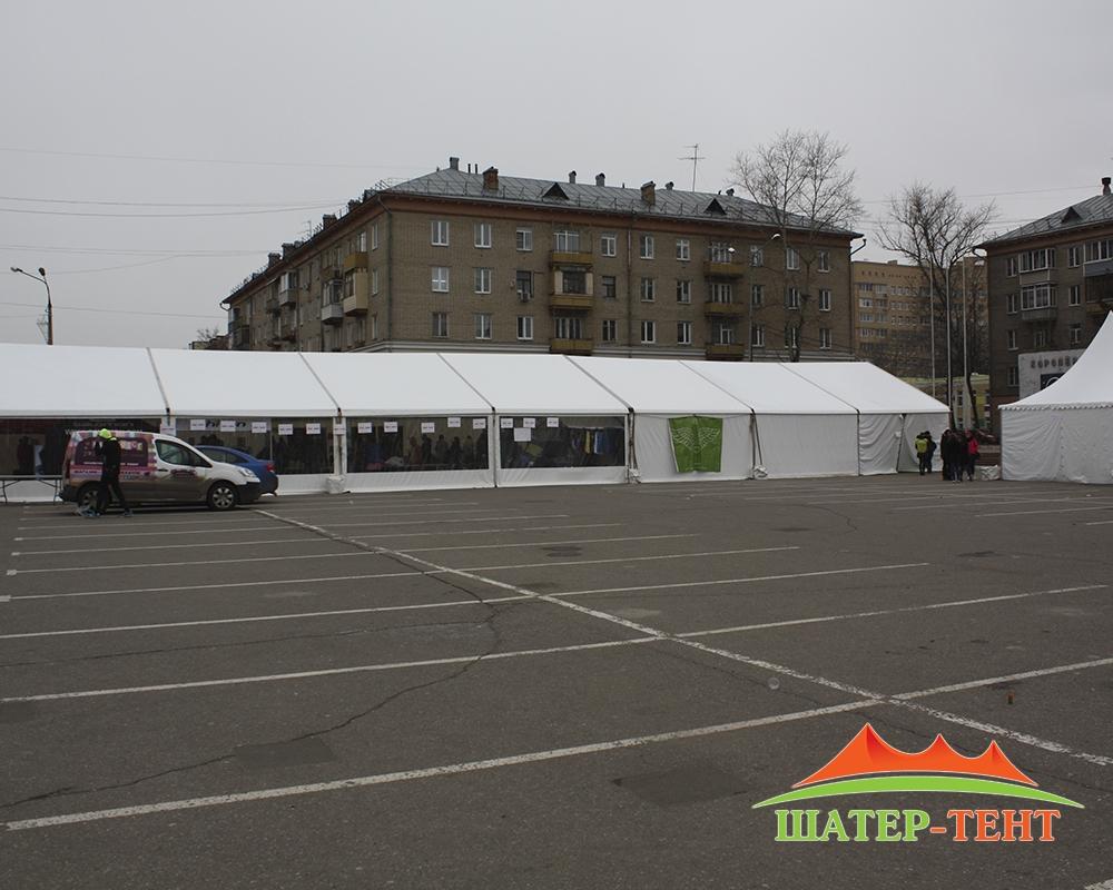 Tent pavilion 10х35м